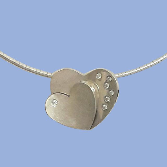 Sparkling hearts - In opdracht - Edelsmederij puur & pracht Helvoirt