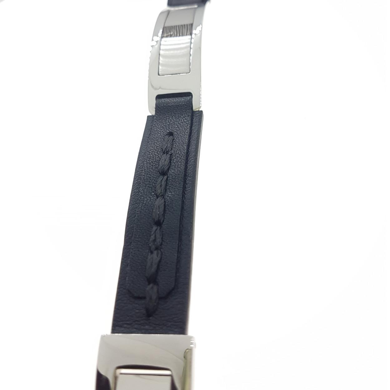 Armband, staal met vingerafdruk en as - sieraad in opdracht - Edelsmederij puur & pracht Helvoirt